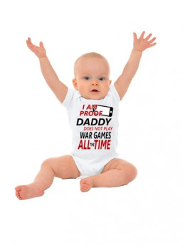 Daddy Proof Onesie